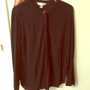 Black old navy tunic shirt XL